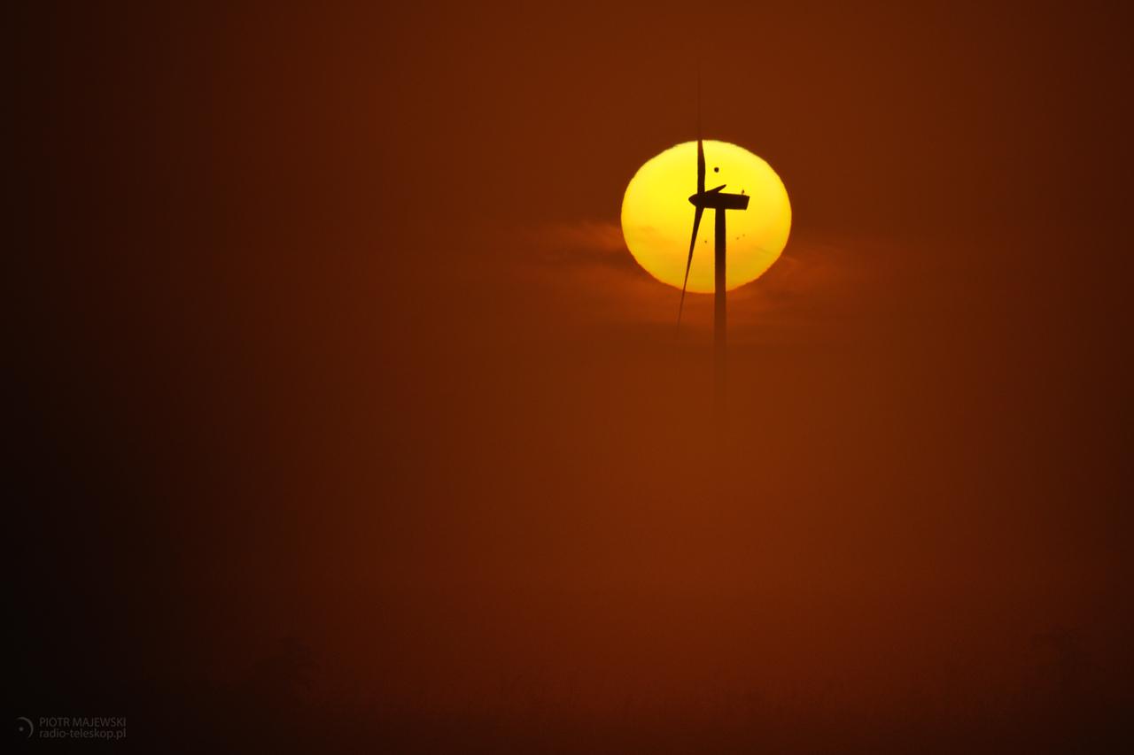 Tranzyt Wenus na tle Słońca 2012