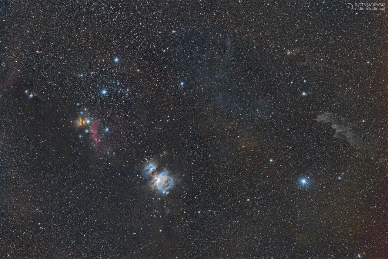 Za pasem Oriona