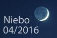 Niebo w kwietniu 2016
