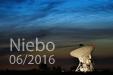 DUCHY NA NIEBIE. Obłoki Srebrzyste nad radioteleskopem w Piwnicach.