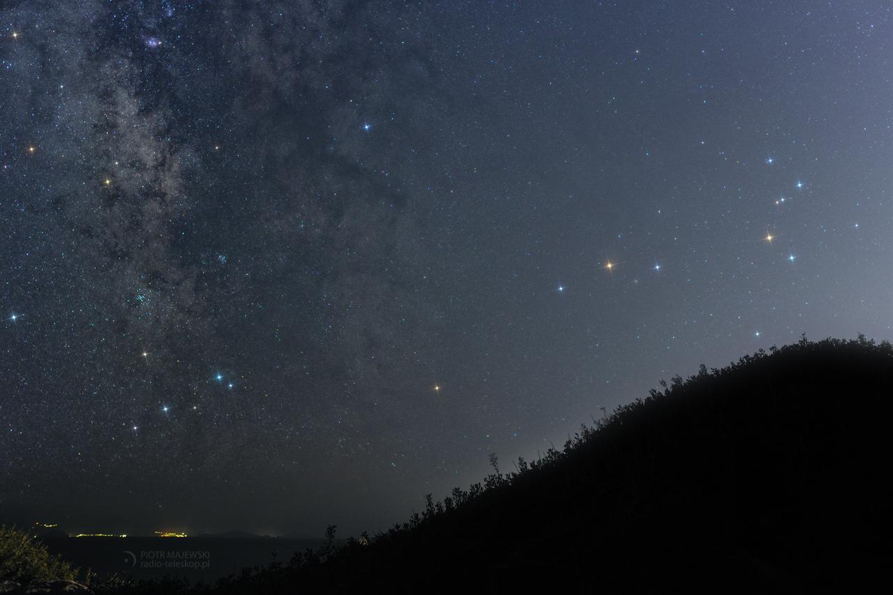 Ares i Antares. Mars w gwiazdozbiorze Skorpiona.