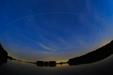 Kosmiczna żegluga 2.0. Międzynarodowa Stacja Kosmiczna (ISS) na nocnym niebie.