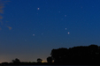ARES, ANTARES I SATURN. Złączenie Marsa, Antaresa i Saturna.