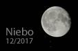 PRZED ZAKRYCIEM. Księżyc i Aldebaran (po lewej) przed zakryciem nocą 6 listopada 2017 roku.