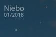 PLANETY NA (U)WADZE. Jowisz i Mars w złączeniu 1 stycznia 2018 roku.