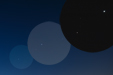 PLANETARNY ZOOMING. Jowisz i Mars w złączeniu 9 stycznia 2018 roku.