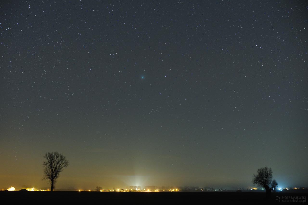 ZIELONE OKO 2.0. Kometa 46P/Wirtanen.