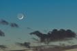 MŁODY KSIĘŻYC. Księżyc dwa dni po nowiu.