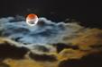 ŚWIADEK ZAĆMIENIA. Częściowe zaćmienie Księżyca 16 lipca 2019 roku.