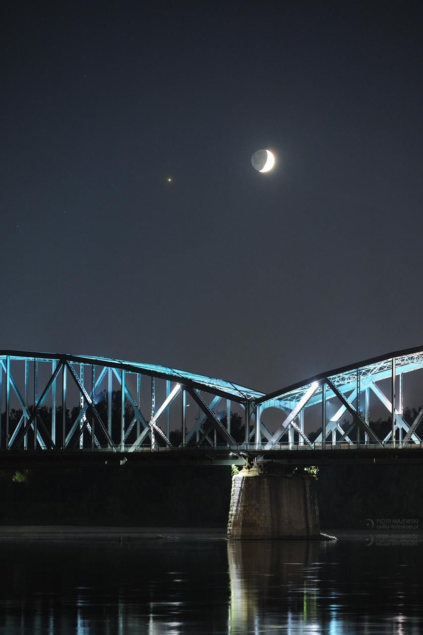 MOST MIĘDZYPLANETARNY 2.2. Księżyc i Jowisz w złączeniu.