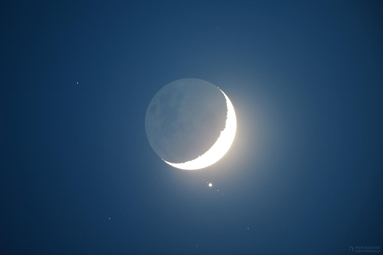 ZAKRYCIE JOWISZA. Zakrycie Jowisza przez Księżyc 15 lipca 2012 roku.