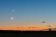 WENUS I SATURN POD KRESKĄ. Wenus i Saturn oraz przelot ISS 10.12.2019 r.