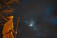 NIEBIESKI SZLAK. Księżyc i Wenus 27 lutego 2020 roku.
