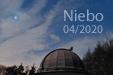 ŁASKA NIEBIOS. Wenus i Plejady 03 kwietnia 2020 roku.