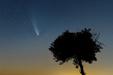 OKRUCHY KOMETY. Kometa C/2020 F3 NEOWISE i meteor z roju Perseidów.