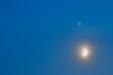 BIG TRIO. Księżyc, Jowisz i Saturn w złączeniu.