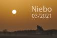 CALIMA DEL SOL. Zachód Słońca w saharyjskim pyle.