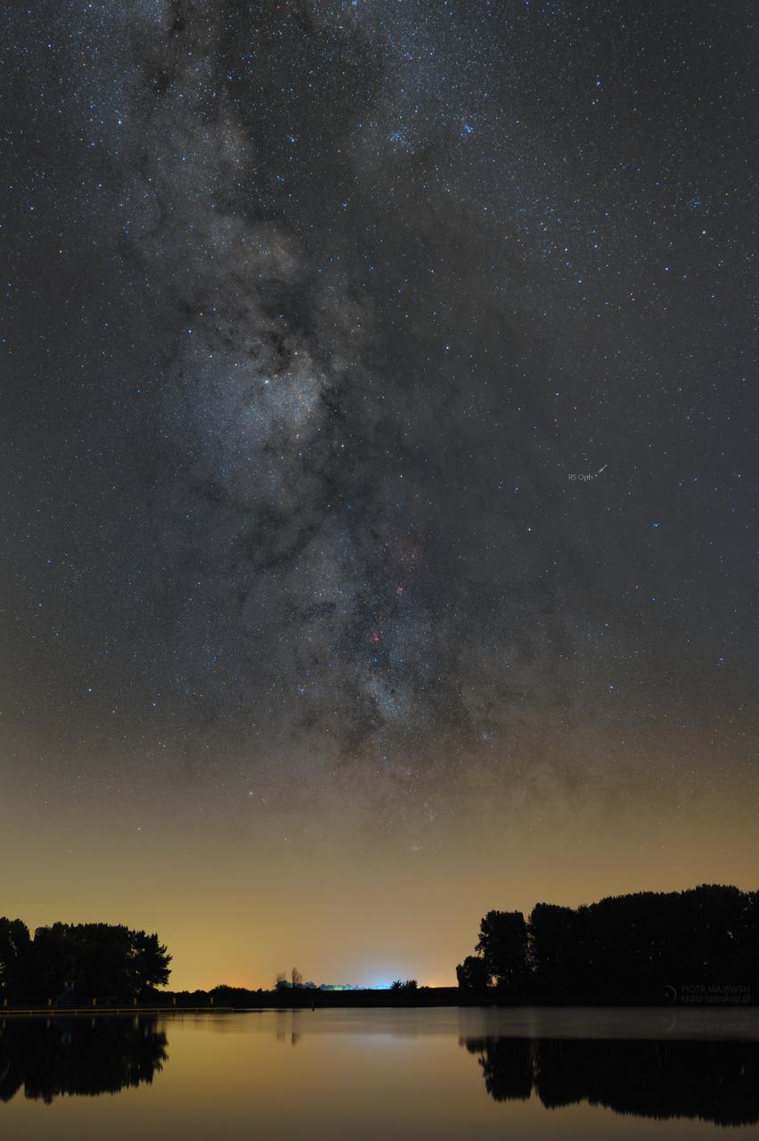 NOWA POWROTNA. Gwiazda RS Ophiuchi.